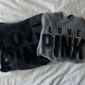 Victoria Secret PINK SWEATSHIRT BUNDLE